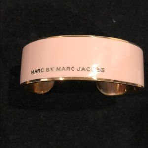 Marc Jacobs rose gold and pink bangle